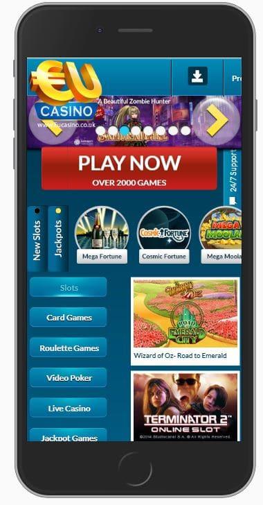 Mobile Online Casino-Eu.Com